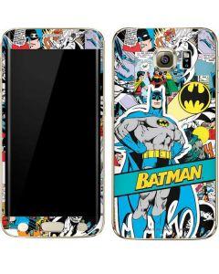 Batman Comic Book Galaxy S6 edge+ Skin