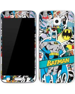 Batman Comic Book Galaxy S6 Skin