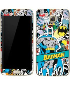 Batman Comic Book Galaxy S7 Edge Skin