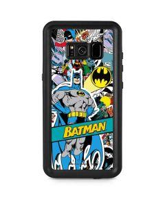 Batman Comic Book Galaxy S8 Plus Waterproof Case