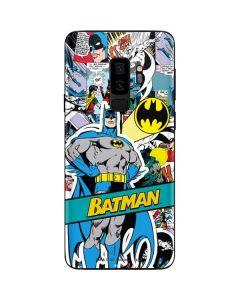 Batman Comic Book Galaxy S9 Plus Skin