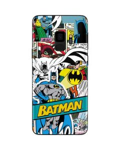 Batman Comic Book Galaxy S9 Skin