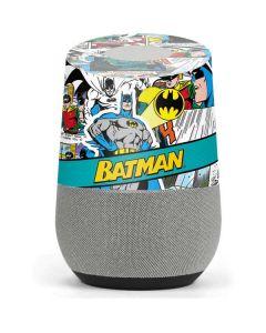 Batman Comic Book Google Home Skin