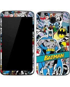 Batman Comic Book Google Nexus 6 Skin