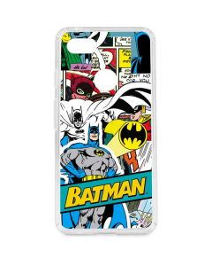 Batman Comic Book Google Pixel 3 XL Clear Case