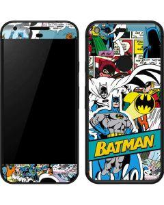 Batman Comic Book Google Pixel Skin