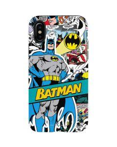 Batman Comic Book iPhone X Pro Case