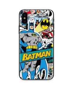 Batman Comic Book iPhone X Skin