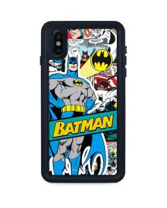 Batman Comic Book iPhone XS Max Waterproof Case