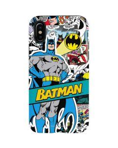 Batman Comic Book iPhone XS Pro Case