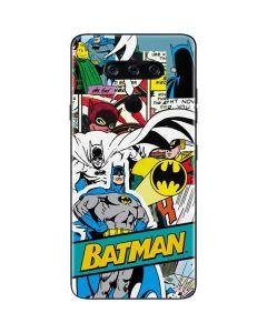 Batman Comic Book LG V40 ThinQ Skin