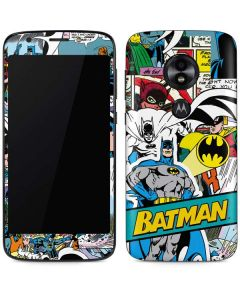 Batman Comic Book Moto E5 Play Skin