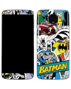 Batman Comic Book Moto E5 Plus Skin