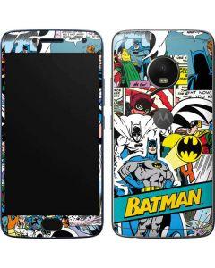 Batman Comic Book Moto G5 Plus Skin