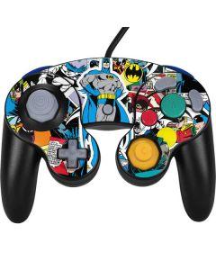 Batman Comic Book Nintendo GameCube Controller Skin