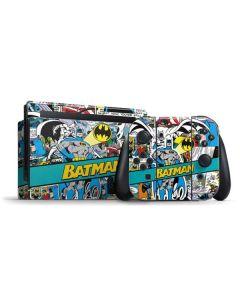 Batman Comic Book Nintendo Switch Bundle Skin