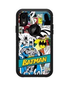 Batman Comic Book Otterbox Defender iPhone Skin