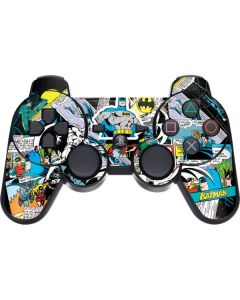 Batman Comic Book PS3 Dual Shock wireless controller Skin
