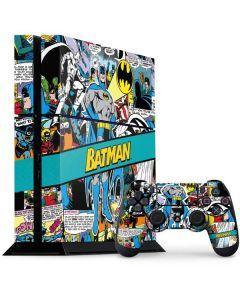Batman Comic Book PS4 Console and Controller Bundle Skin