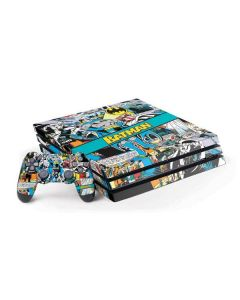 Batman Comic Book PS4 Pro Bundle Skin