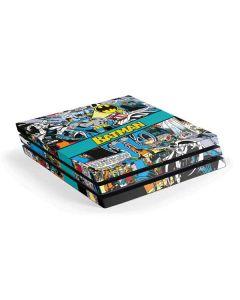 Batman Comic Book PS4 Pro Console Skin