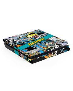 Batman Comic Book PS4 Slim Skin