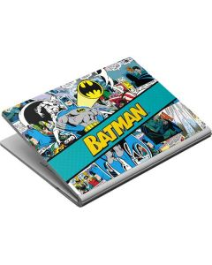 Batman Comic Book Surface Book Skin