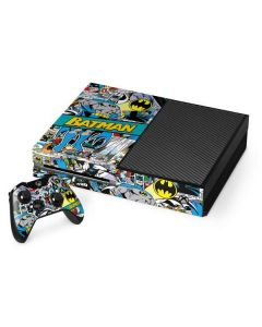 Batman Comic Book Xbox One Console and Controller Bundle Skin