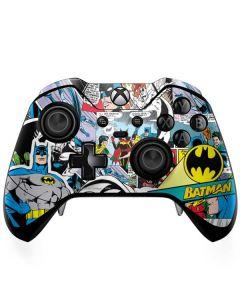 Batman Comic Book Xbox One Elite Controller Skin