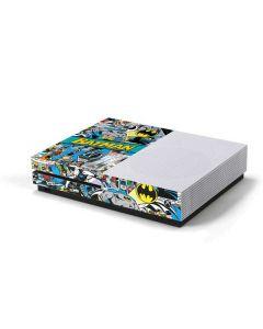 Batman Comic Book Xbox One S Console Skin
