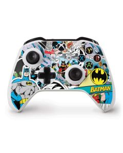 Batman Comic Book Xbox One S Controller Skin