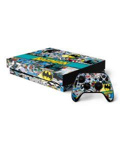 Batman Comic Book Xbox One X Bundle Skin