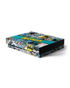Batman Comic Book Xbox One X Console Skin