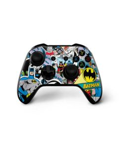 Batman Comic Book Xbox One X Controller Skin