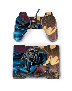 Batman in the Sky PlayStation Classic Bundle Skin