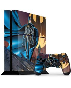 Batman in the Sky PS4 Console and Controller Bundle Skin