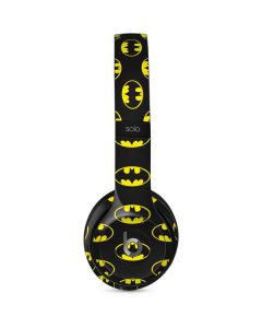 Batman Logo All Over Print Beats Solo 2 Wired Skin