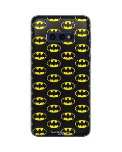 Batman Logo All Over Print Galaxy S10e Skin