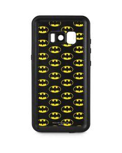 Batman Logo All Over Print Galaxy S8 Plus Waterproof Case