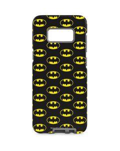 Batman Logo All Over Print Galaxy S8 Pro Case