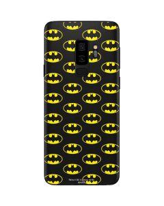 Batman Logo All Over Print Galaxy S9 Plus Skin