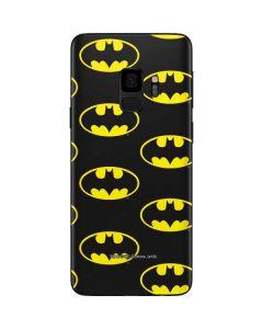 Batman Logo All Over Print Galaxy S9 Skin