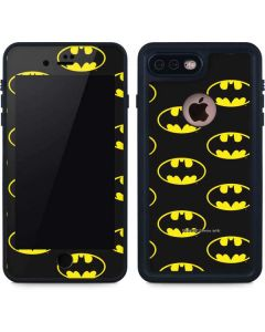 Batman Logo All Over Print iPhone 8 Plus Waterproof Case