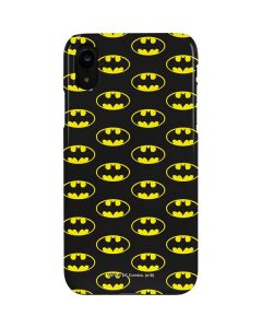 Batman Logo All Over Print iPhone XR Lite Case