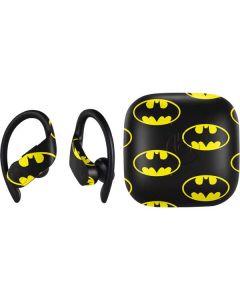 Batman Logo All Over Print PowerBeats Pro Skin