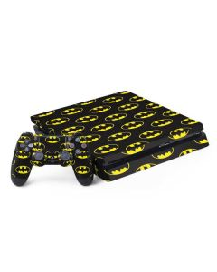 Batman Logo All Over Print PS4 Slim Bundle Skin