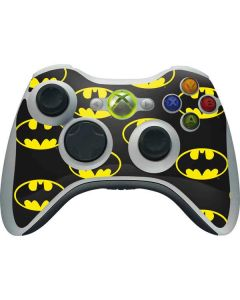 Batman Logo All Over Print Xbox 360 Wireless Controller Skin
