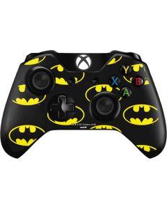 Batman Logo All Over Print Xbox One Controller Skin