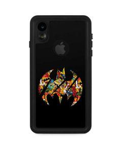 Batman Logo Craze iPhone XR Waterproof Case