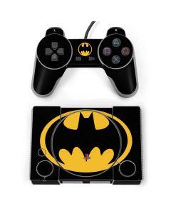 Batman Logo PlayStation Classic Bundle Skin